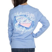 Whatever Floats Your Boat - Long Sleeve – Lauren James