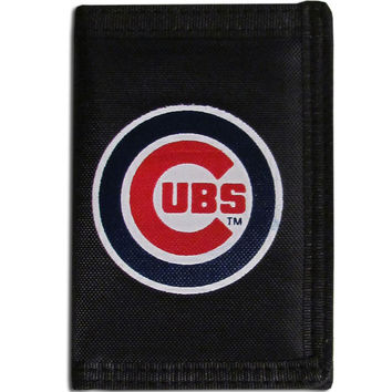 Chicago Cubs Velcro Tri-fold Wallet