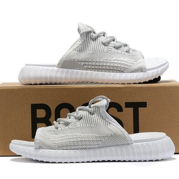 adidas Yeezy Static Reflective Sandals Slippers Sliders Summer Shoes Flip Flop - Best Deal Online