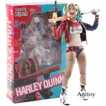 S.H.Figuarts SHF Action Figure Suicide Squad Harley Quinn Toys PVC Collectible Model Toy
