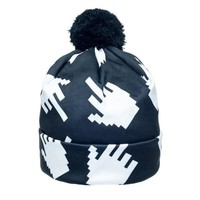 Middle Finger Beanie Hat by Fringoo