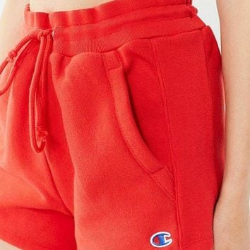 Champion 2018's latest women's exquisite stylish reverse knit logo shorts F