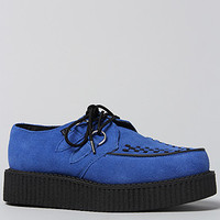 The Low Sole Creeper in Blue Suede