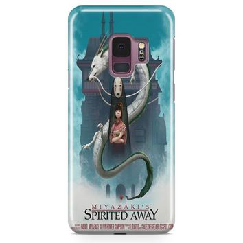 Spirited Away Poster Studio Ghibli Samsung Galaxy S9 Case | Casefantasy