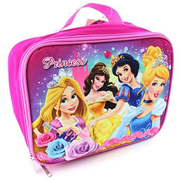 Disney Princess Soft Lunch Box (Disney Princess Pink)