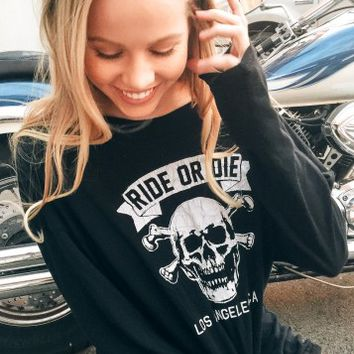 SAMANTHA RIDE OR DIE TOP