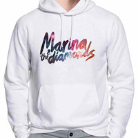 Marina & The Diamonds Galaxy Nebula Music Hoodie -tr3 Hoodies for Man and Woman
