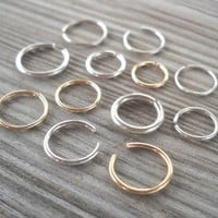 Septum Ring,Nose Ring piercing ring,cartilage,helix,tragus,ear hoop earring