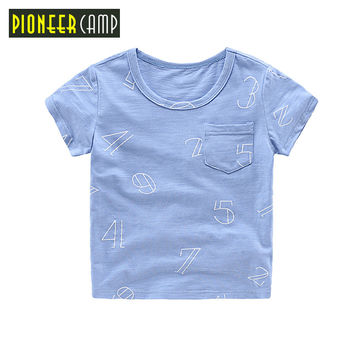 Kids Children T-shirt boys tops&Tees Short sleeve shirts Summer Kids Tops Cartoon Baby Boy Clothing