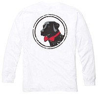 Long Sleeve Original Tee in White by Southern Proper