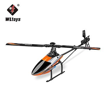 RC Helicopters WLtoys V950 2.4G 6CH 3D / 6G System Flybarless Brushless Motor RC Helicopter Ready to Fly Remote Control Toys
