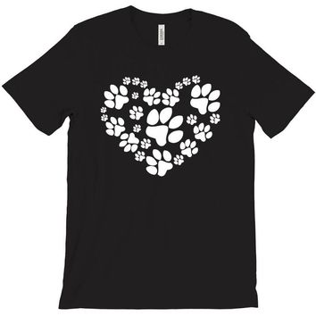 cat love paw T-Shirt