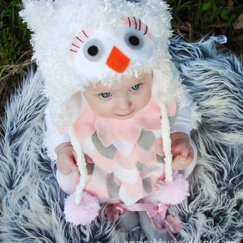 Owl Costume baby toddler girls Halloween Costume by abbygiggles