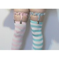 Striped Socks - Kitten's Playpen