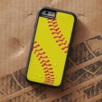 Custom Softball iPhone 6 Case