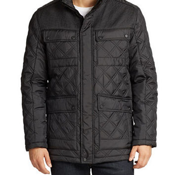 Andrew Marc Patton Diamond-Quilted Jacket