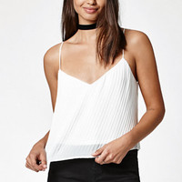 Kendall & Kylie Pleated Woven Cami Tank Top at PacSun.com