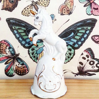 Unicorn Bell- Room Decor- Fantasy Decor- Home Decor- Boho Decor- Whimsical Decor- Unicorn figurine- Boho Chic- Bohemian- Perfect Gift- Love