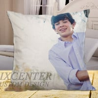 Hayes Grier on square pillow cover 16inch 18inch 20inch