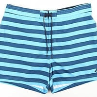 Nautica Men's Stripe Swim Trunks