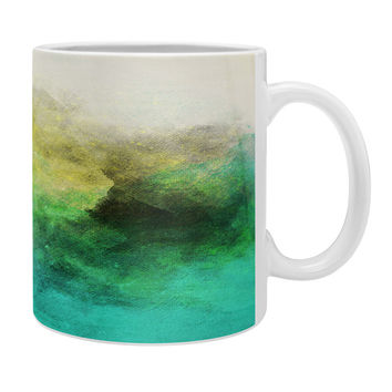 Allyson Johnson Peacock Ombre Coffee Mug