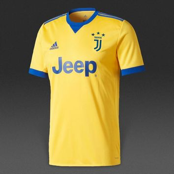 KUYOU Juventus 2017/18 Away Men Soccer Jersey Personalized Name and Number
