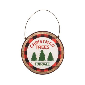 CHRISTMAS TREES FOR SALE WITH BORDER ORNAMENT