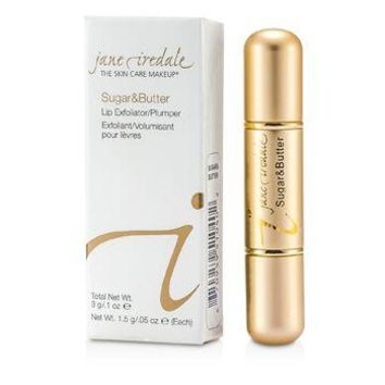 Jane Iredale Sugar & Butte Lip Exfoliant/ Plumper - Sugar & Butter Make Up