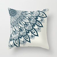 Mandala Throw Pillow by Rskinner1122