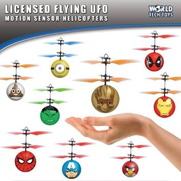 Marvel UFO Ball Helicopter - Free Shipping