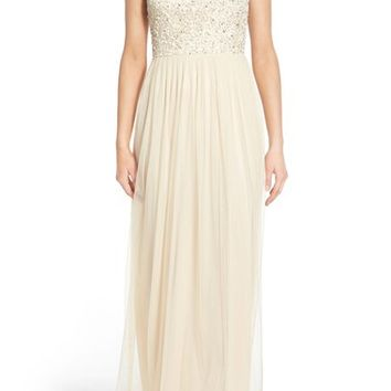 Lace & Beads 'Bella' Embellished Sleeveless Gown | Nordstrom