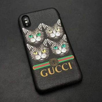 Gucci Cat Case for iPhone