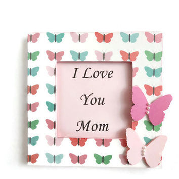 Mother's Day Gift Frame Butterfly Frame