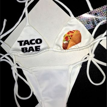 SWEET LORD O'MIGHTY! TACO BAE BIKINI SET