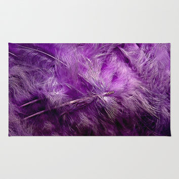 LIGHT AS FEATHERS Area & Throw Rug by Catspaws