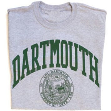 Dartmouth Seal T-shirt, Dartmouth College Tee with Dartmouth-Dartmouth Coop
