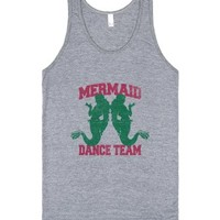 Mermaid Dance Team (Tank)-Unisex Athletic Grey Tank