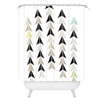 Gabi El Catrin Shower Curtain