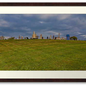 Hilltop Graveyard by Picturart