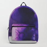 Violet Aura Backpack by duckyb