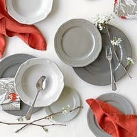 Eclectique Dinnerware Place Setting, Grey