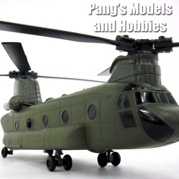 Boeing CH-47 Chinook - ARMY Scale Diecast Metal Helicopter by NewRay