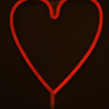 A Love Like This neon light in red Produced By SHOWPO