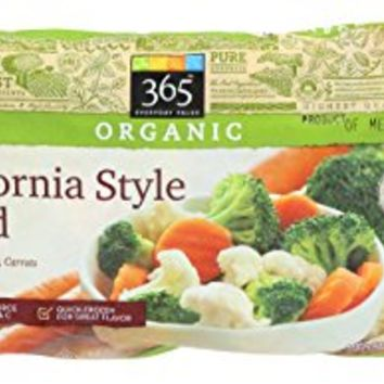 365 Everyday Value, Organic California Style Blend, 16 oz, (Frozen)
