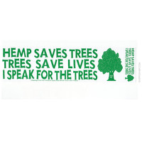 Hemp Saves Trees Bumper Sticker on Sale for $2.99 at HippieShop.com