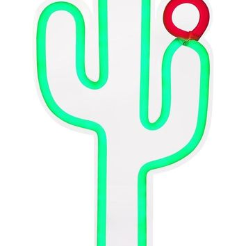 Cactus Neon LED Wall Large