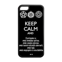 Cool American television drama Supernatural iPhone 5C Case New style Snap On Cover
