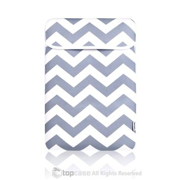 """Chevron Series Gray Sleeve Bag Cover for Macbook 12"""" 12-Inch Model: A1534 Retina Noteboook"""