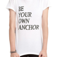 Teen Wolf Be Your Own Anchor Girls T-Shirt