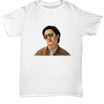 Asian Actor Character Funny Movie Tee Shirt